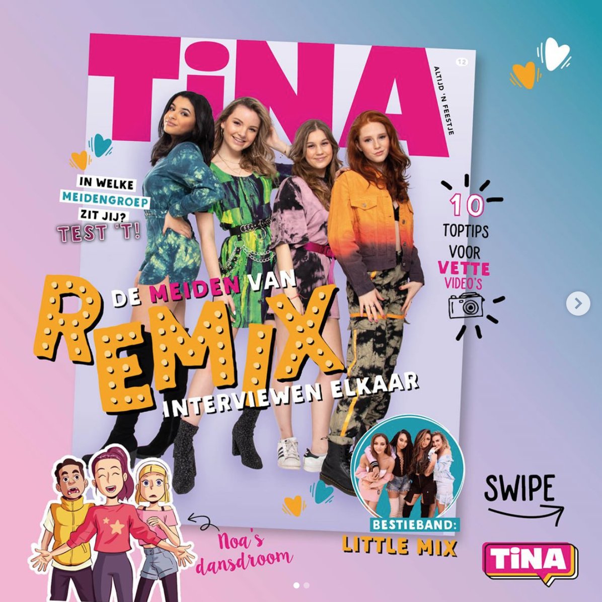 tina-tijdschrift-cover-remix-girlband-xanne-roula-jazz-mimi